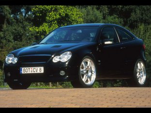 Brabus Mercedes-Benz C V8 Sports Coupe