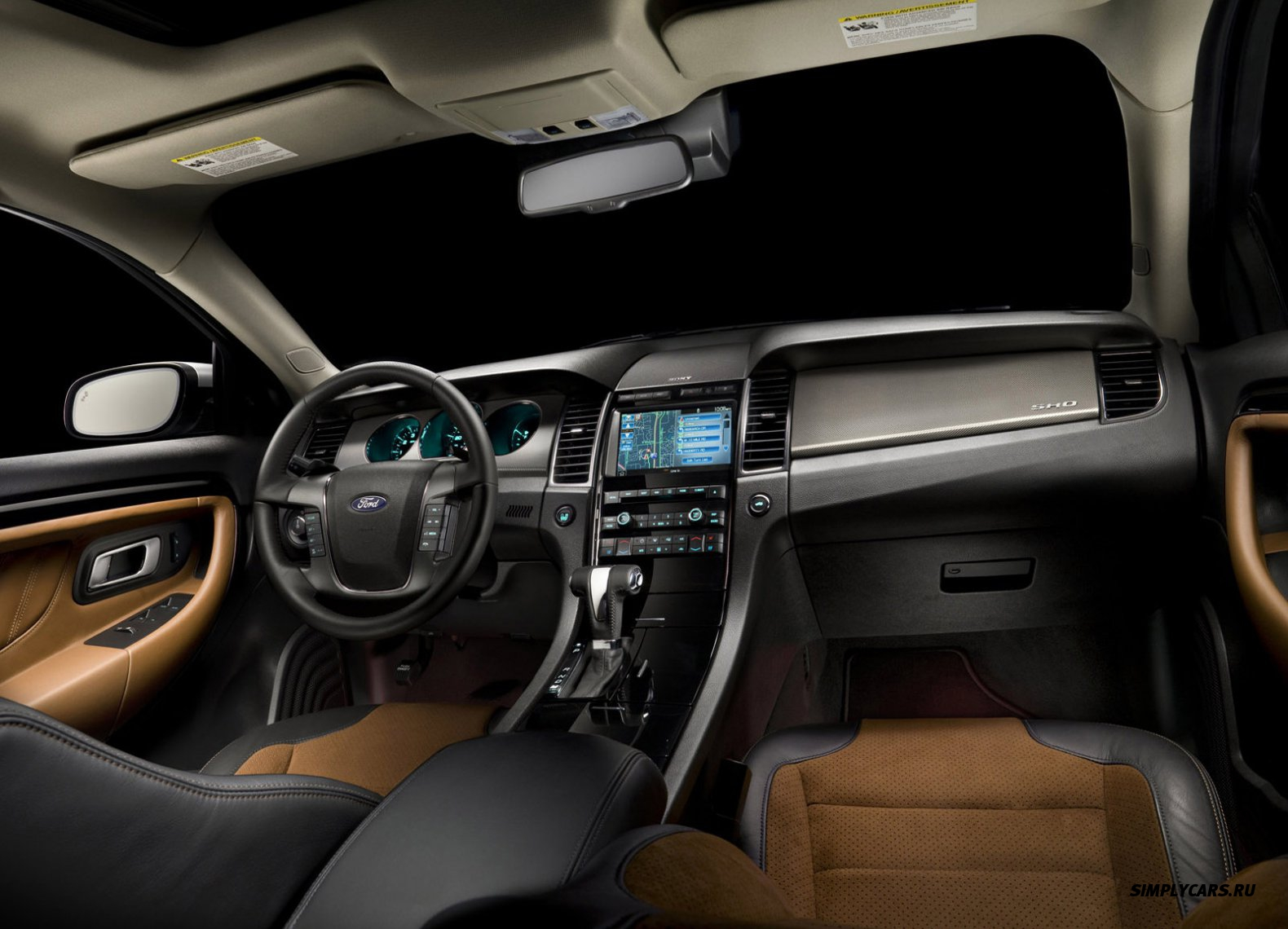 Ford taurus interior photos