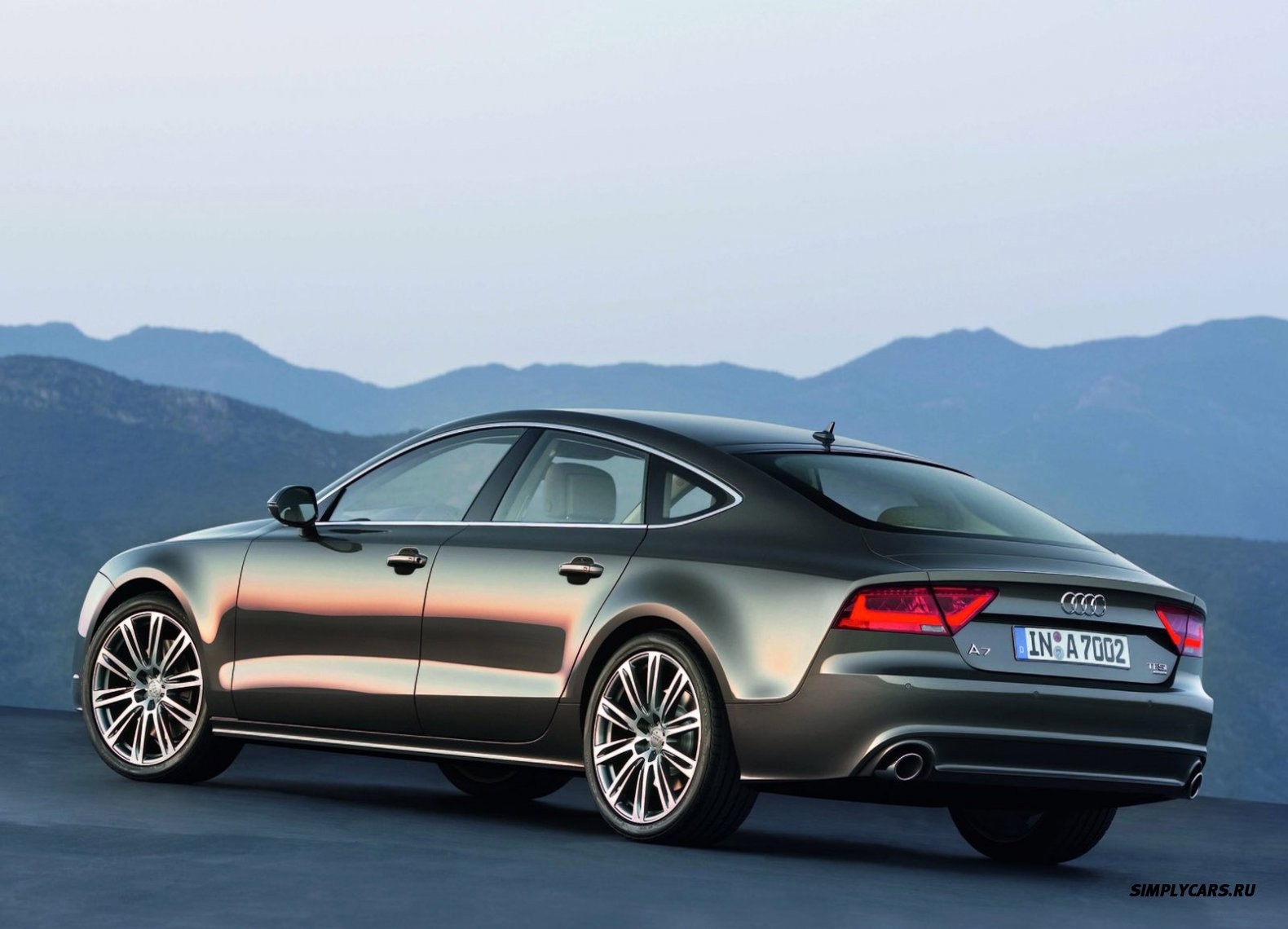 Audi a7 coupe 2014