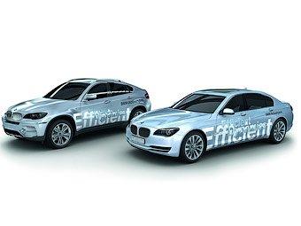 Во Франкфурте представят серийные гибриды BMW 7 и X6