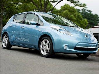 Nissan показала свой первый массовый электрокар