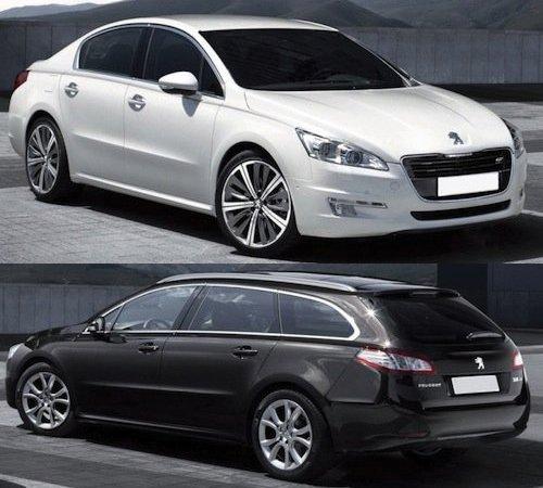 Peugeot (Пежо) показал новый 508-й