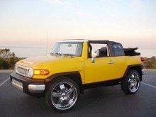 Toyota выпускает на рынок обновленный FJ Cruiser