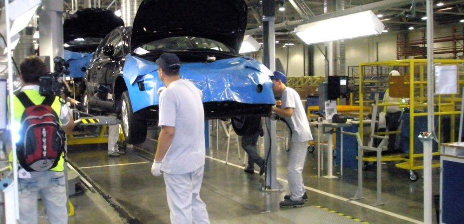 Вчера в Калуге запущено производство Ситроен С4 (Citroen C4)