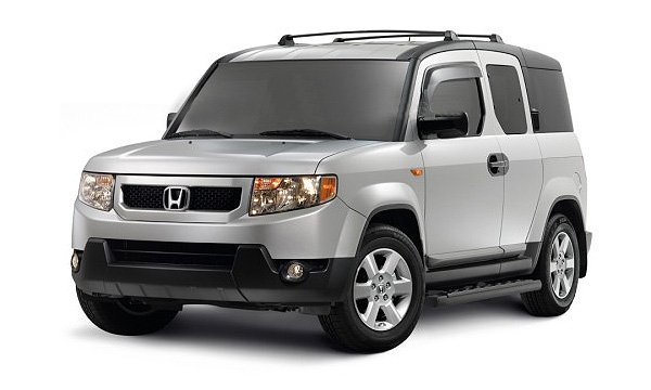 Хонда из-за проблем с трансмиссией отзывает 585 кроссоверов Элемент (Element).