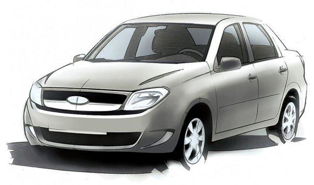 Новинка «АвтоВАЗа» Лада-2190 будет называться Лада Гранта (Lada Granta).