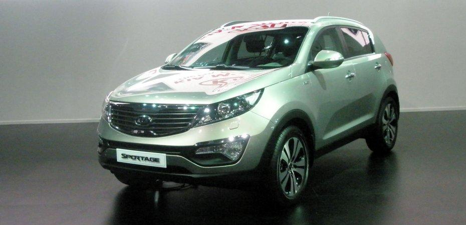 Киа Спортейдж (Kia Sportage) в продаже с 1 сентября