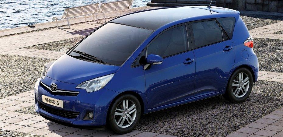 Новый Версо-эС (Verso-S) от Тойота (Toyota)