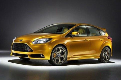 Показан новый Форд Фокус СТ (Ford Focus ST)