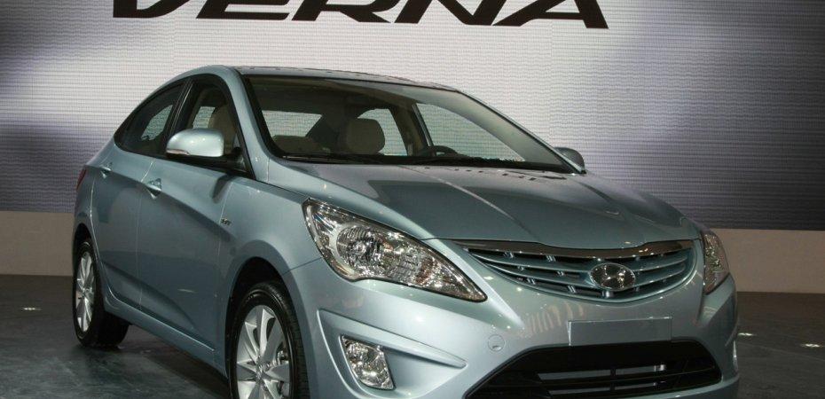 Хендай Солярис (Hyundai Solaris) - от 350 000 рублей