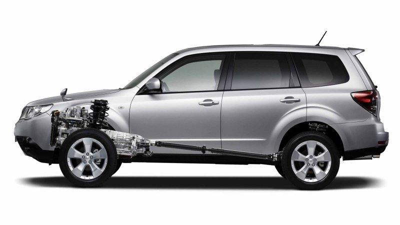 У Субару (Subaru) новые двигатели