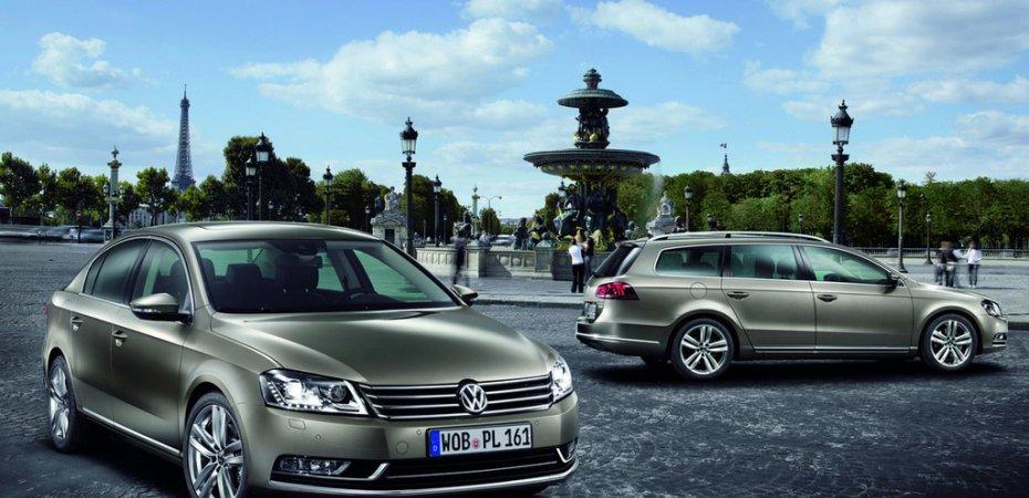 Новый Фольксваген Пассат (Volkswagen Passat) показан в Париже
