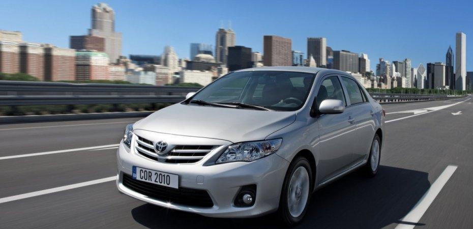 Экспорт Тойота Королла (Toyota Corolla) будет прекращен