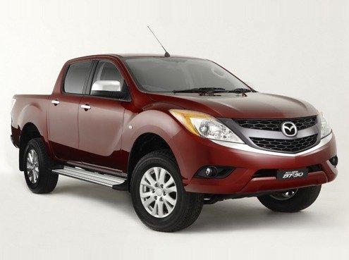 Мазда (Mazda) показала новый ВТ-50 (BT-50)