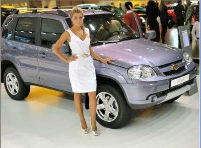 Шевроле (Chevrolet) выпустил особую Ниву (Niva)