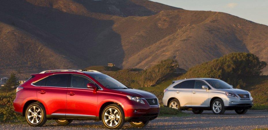 Самый доступный Лексус (Lexus) - RX270 в продаже