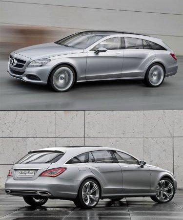 Мерседес (Mercedes) выпустит универсал CLS