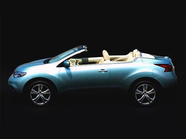 Ниссан Мурано (Nissan Murano) - теперь кабриолет