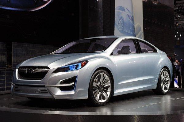 Показан будущий Субару Импреза (Subaru Impreza)