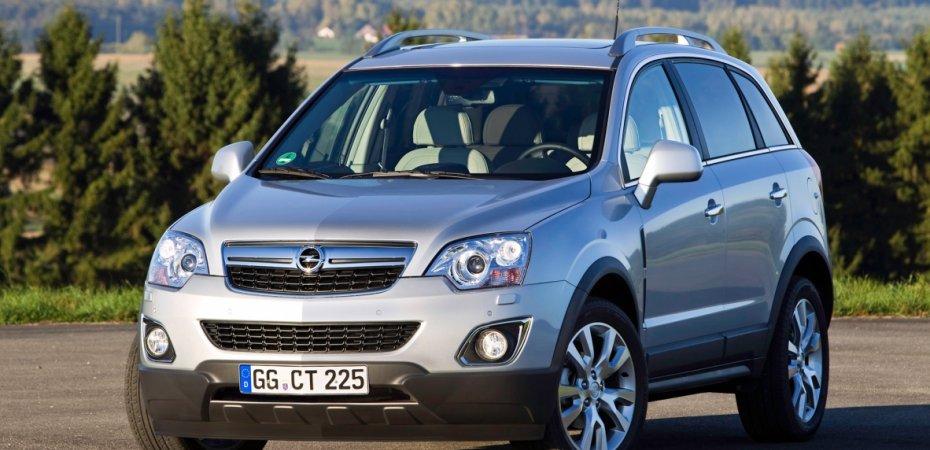 Опель Антара (Opel Antara) обновляется