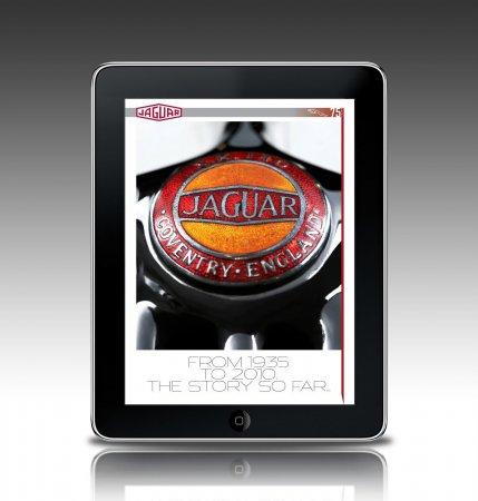 Jaguar (Ягуар) выпустил приложение для iPad