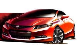 Новый Хонда Цивик (Honda Civic) уже через месяц
