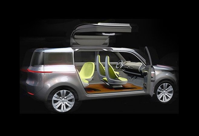 Киа Моторс (Kia Motors) покажет в Детройте гибрид кроссовера и минивэна