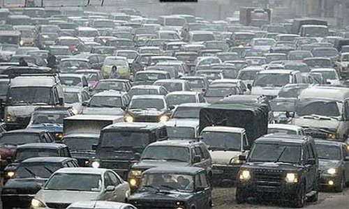 В Москве был установлен рекорд года по протяженности пробок
