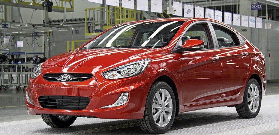 На новый Хюндай Солярис (Hyundai Solaris) поступило уже 5 тысяч заказов