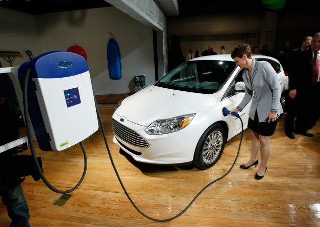 Новый экологически чистый Форд Фокус (Ford Focus) был представлен в Лас-Вегасе