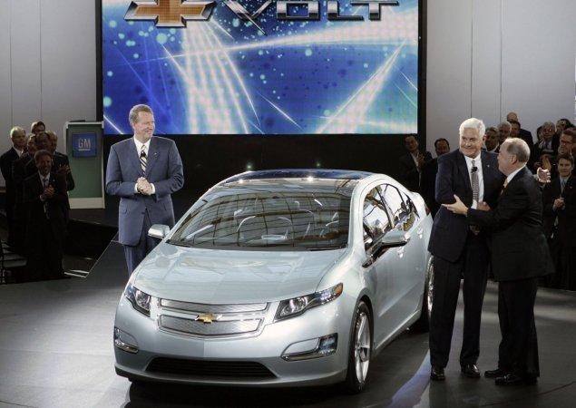 Шевроле Вольт (Chevrolet Volt) признан автомобилем годом в Детройте