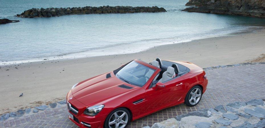 Показан новый Мерседес СЛК (Mercedes SLK)