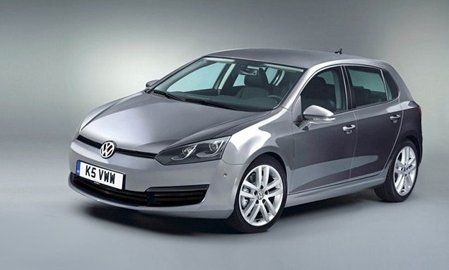 К концу 2012 года в продаже появится новый Фольксваген Гольф (Volkswagen Golf)