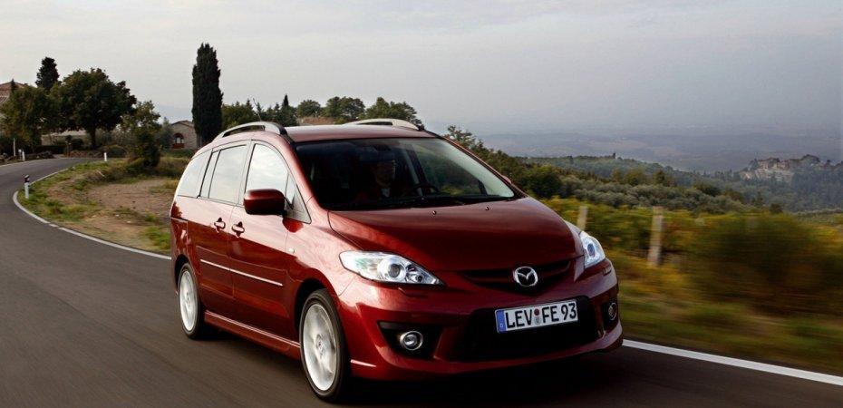 Минивэн Мазда5 (Mazda5) приглянулся Ниссан (Nissan)