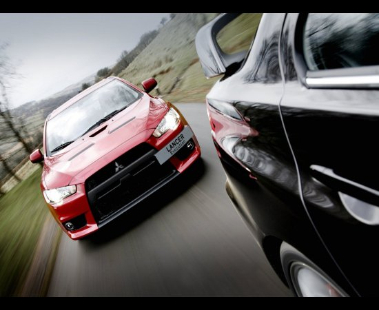 Мицубиси (Mitsubishi) освежила облик нового  Лансер Икс (Lancer X)