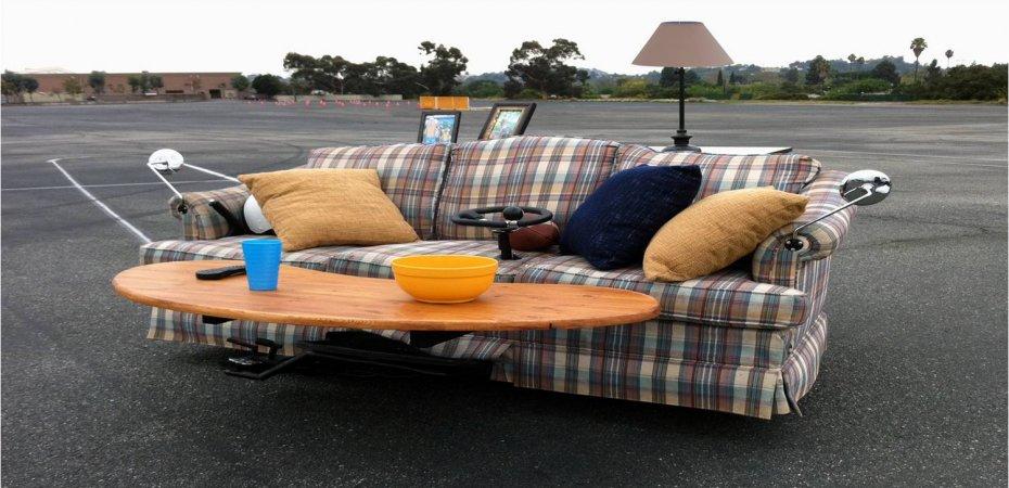 Сузуки (Suzuki) создала моторизированный диван