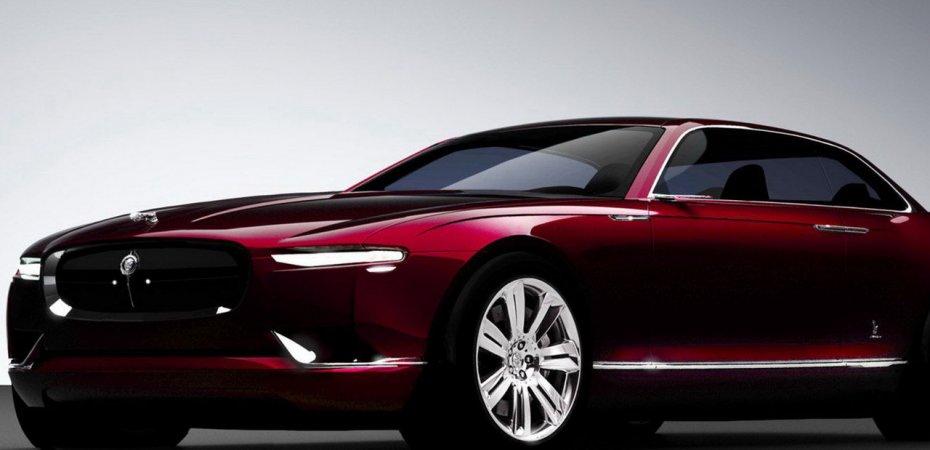 Кузовное ателье Бертон (Bertone) представит проект Ягуара (Jaguar)