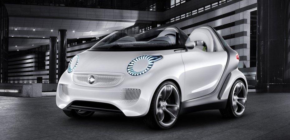 Смарт (Smart) представит на автошоу в Женеве электрический родстер
