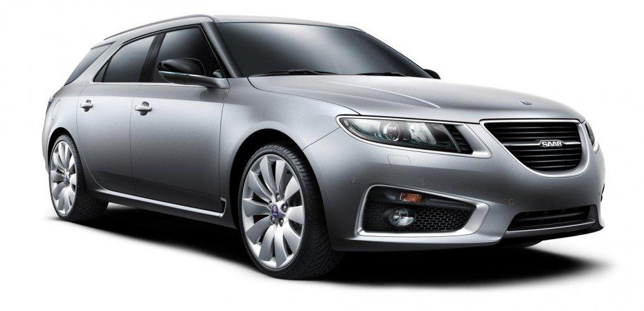 Сааб (Saab) представил новинку Saab 9-5 СпортКомби