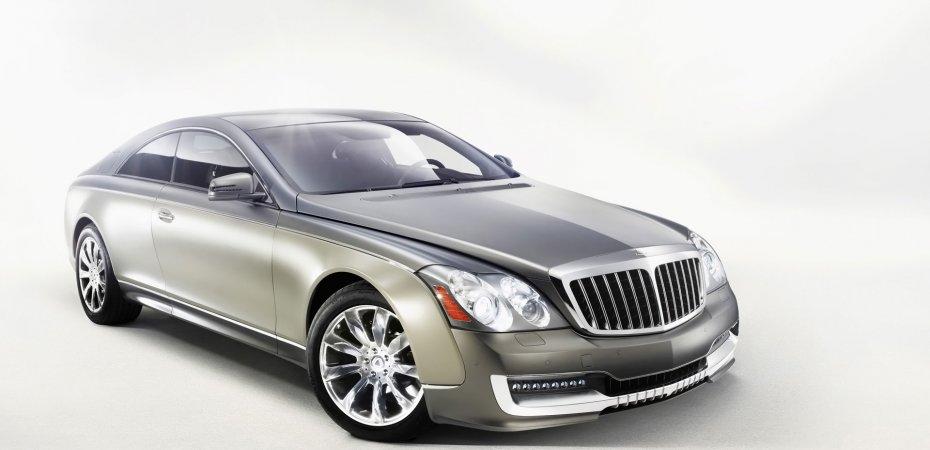 Купе Майбах Круизерио (Maybach Cruiserio) покажут на женевском автошоу