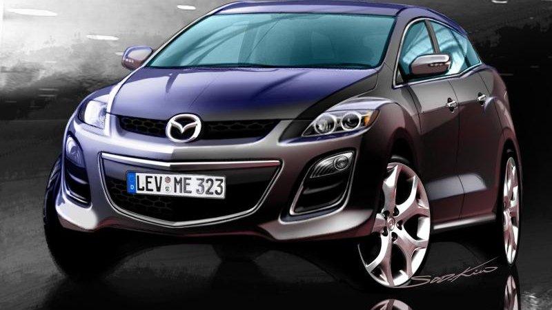 Кроссовер Мазда СХ-7 (Mazda) CX-7 получил новый двигатель
