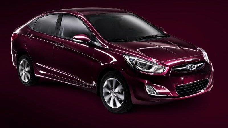 Хендай Солярис (Hyundai Solaris) стал лидером продаж