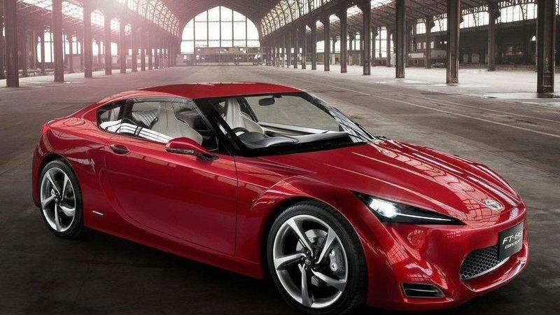 В Тойота (Toyota) планируют гибридный концепт-кар FT-86