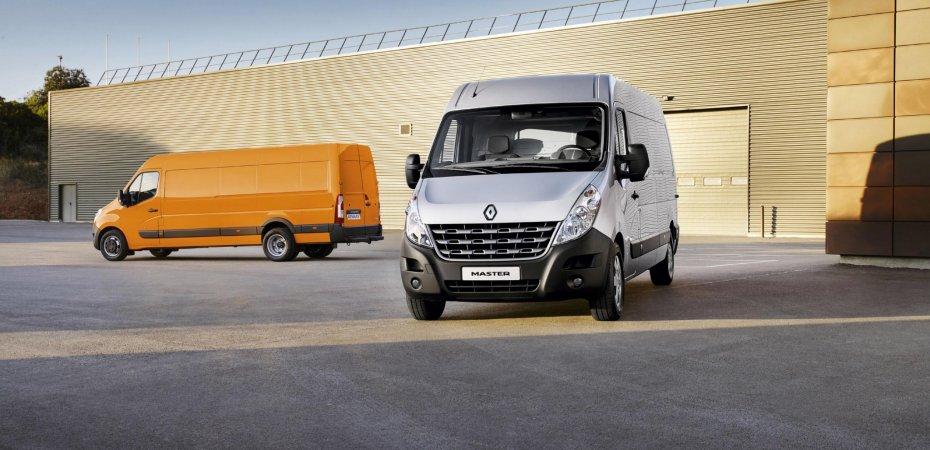 Обновленный фургон Рено Мастер (Renault Master) скоро появится в продаже на российском рынке