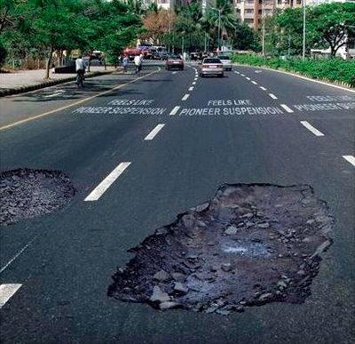 В каждом пятом ДТП виноваты плохие дороги