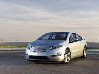 Chevrolet Volt будет расходовать литр бензина на сто километров