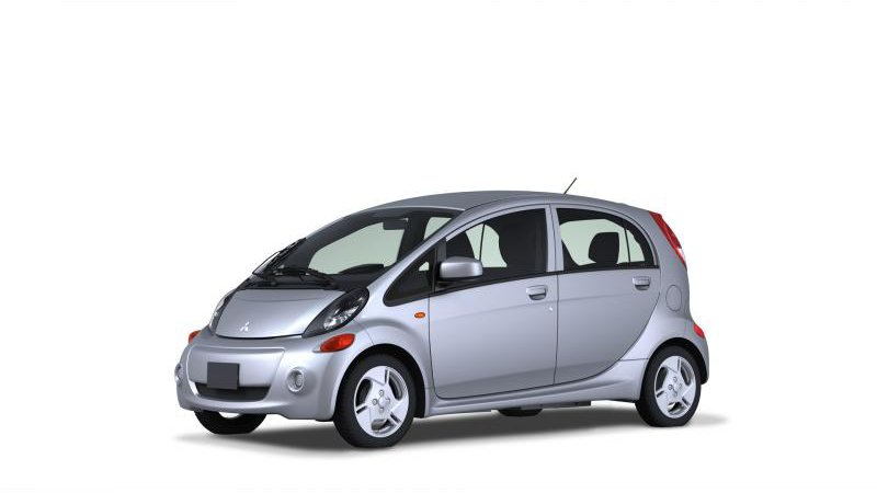 Митсубиси И-Миив (Mitsubishi i-MiEV) в продаже с мая
