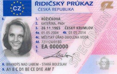 Вводятся новые водительские удостоверения
