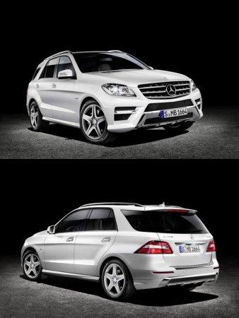 Мерседес М (Mercedes M) нового поколения скоро в продаже