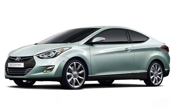 Хендай Элантра Купе (Hyundai Elantra Coupe) покажут осенью